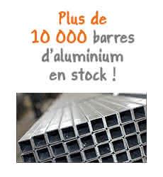 barres aluminium voliere